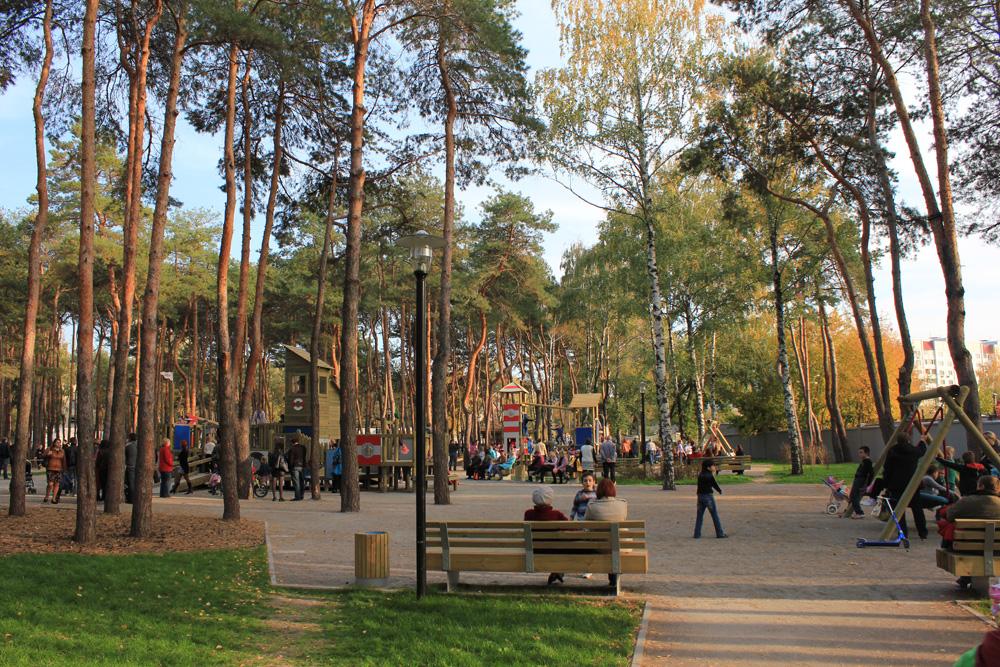 Фото парка Алые паруса в